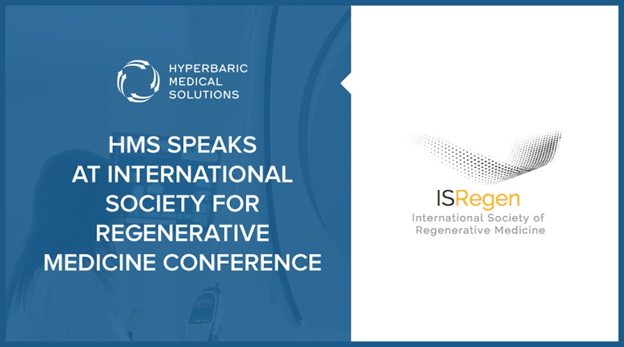 HMS SPEAKS AT INTERNATIONAL SOCIETY FOR REGENERATIVE MEDICINE CONFERENCE