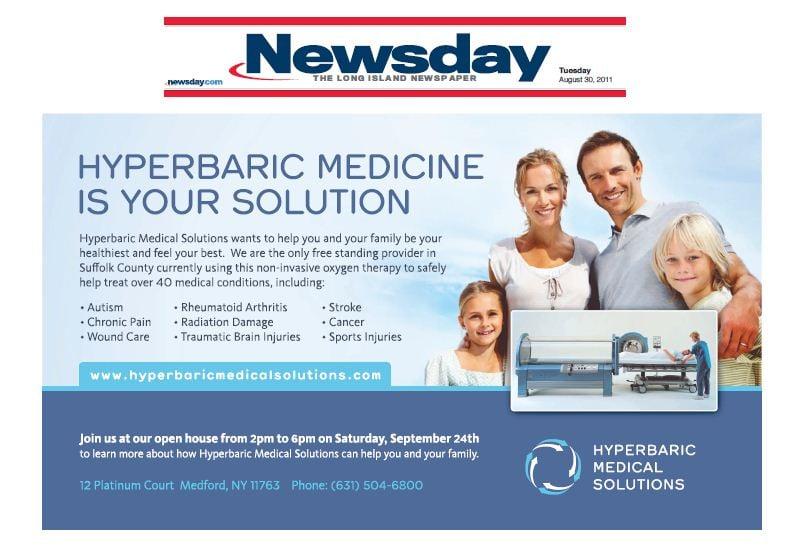Newsday Healthlink Advertisement August 30th